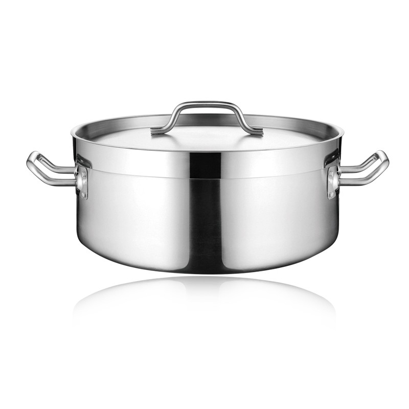 COMMERCIAL SS CASSEROLE WITH SANDWICH BOTTOM & LID (04STYLE)