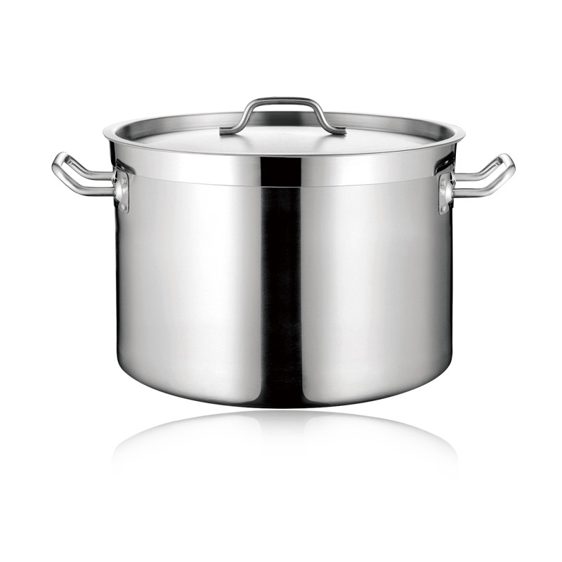 COMMERCIAL SS SAUCEPOT WITH SANDWICH BOTTOM & LID (05STYLE)