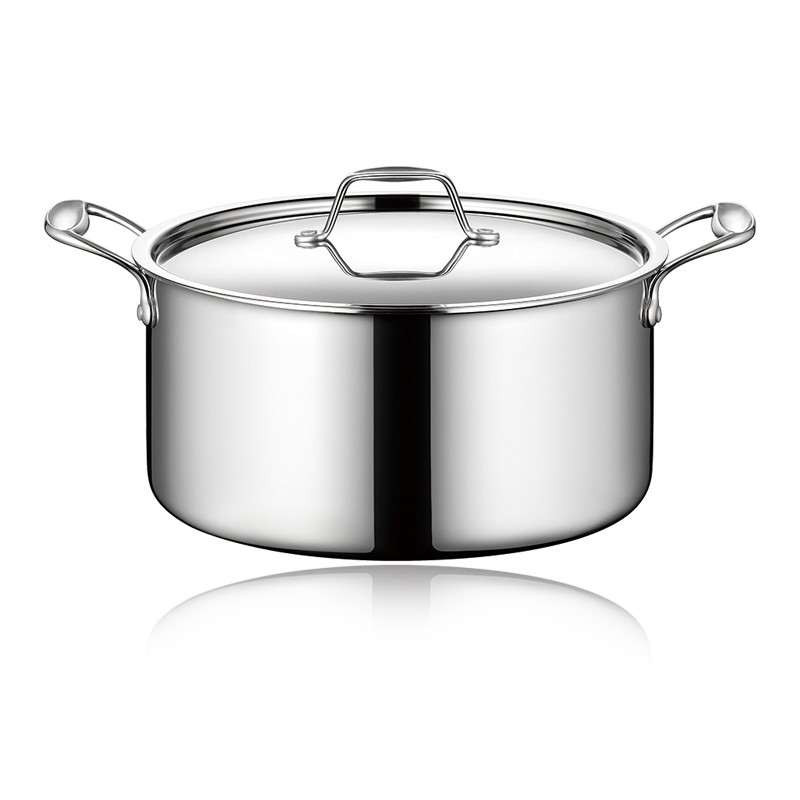 TRI-PLY SAUCEPOT WITH LID