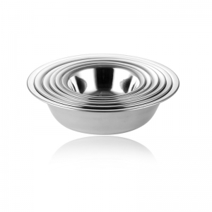 SHALLOW MIXING BOWL